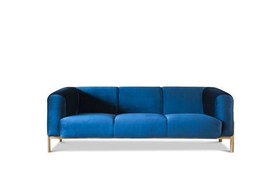 Großes Sofa aus Samt Viela ohne jede Grenze