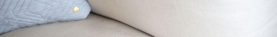 Materialbeschreibung Größes vierplätze Sofa Balloon