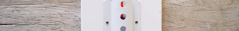 Materialbeschreibung Großes Wandthermometer