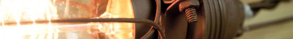 Materialbeschreibung Handlampe Olympia