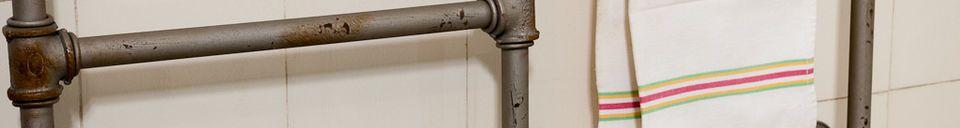 Materialbeschreibung Handtuchhalter Pipeline