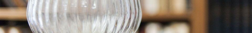 Materialbeschreibung Hängeleuchte aus Glas Stéphanie