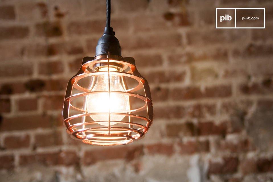 Die Hängeleuchte Bristol ist eine Lampe im neo-retro Stil welche direkt inspiriert ist von alten Artelier Leuchten