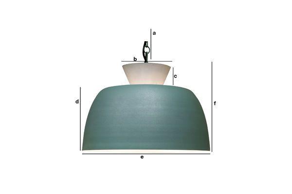 Produktdimensionen Hängeleuchte Design Zermatt