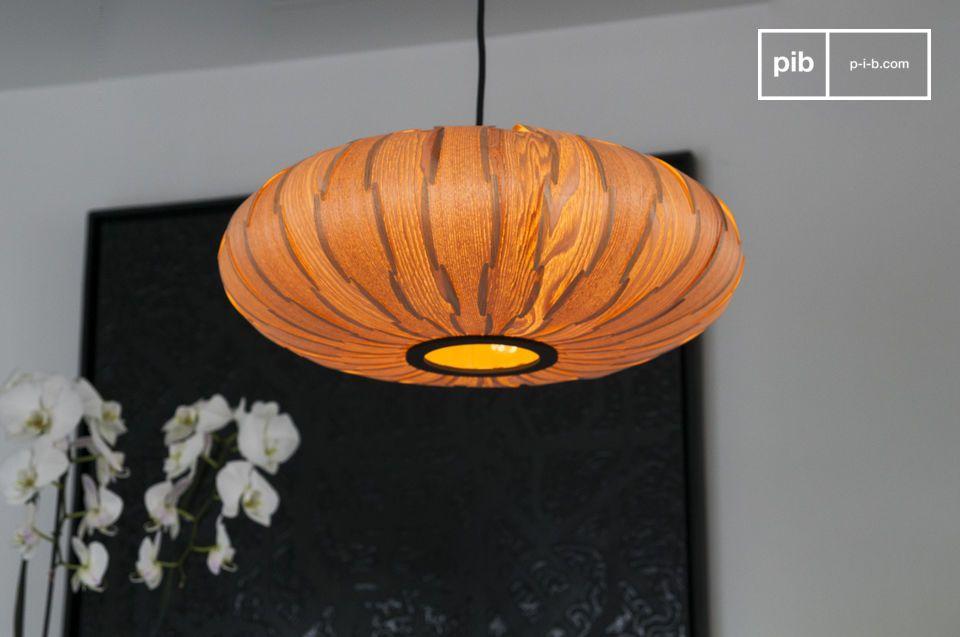 Tolle Formen einer Leuchte mit dem Design der 60er Jahre