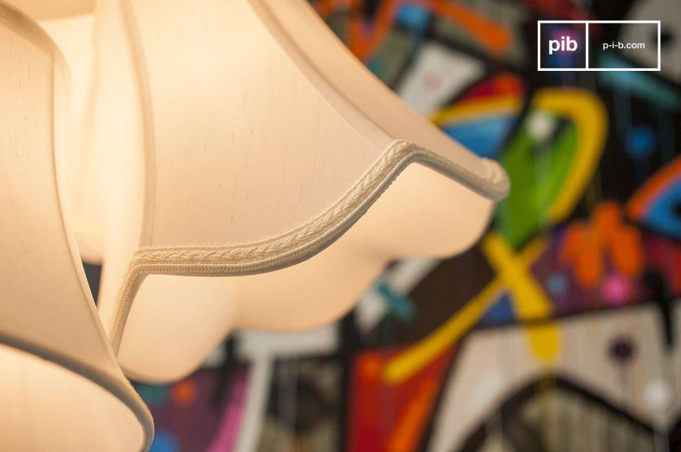 Acht Lampenschirme für originellen Retro Flair