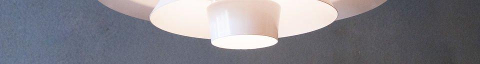 Materialbeschreibung Hängeleuchte Trebäl
