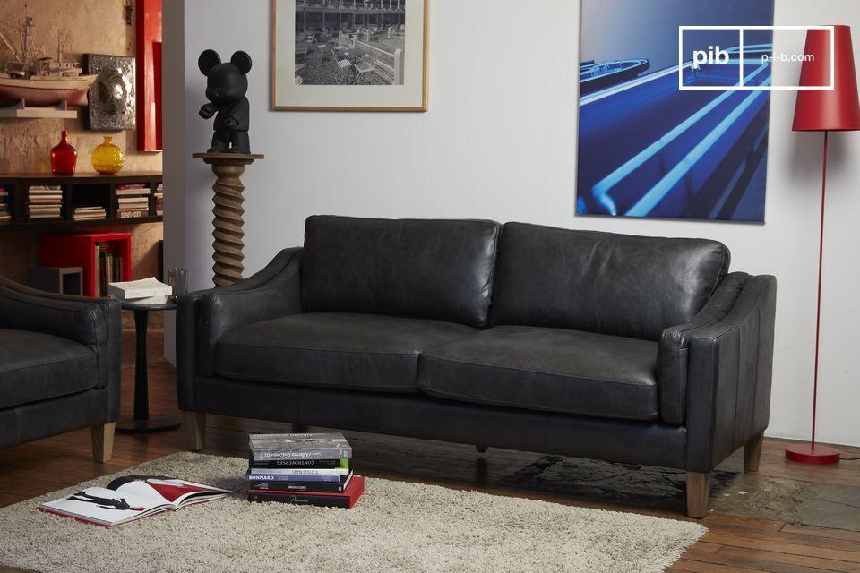 Heidsieck 3 Sitzer Sofa Hochwertiges Leder Und Ein Pib Sterreich