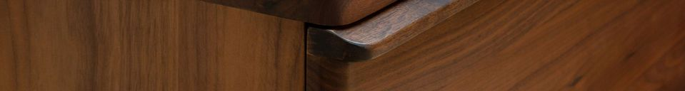 Materialbeschreibung Hemët Nussbaum Sideboard