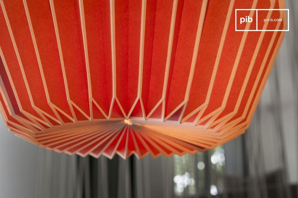 Die Leichtigkeit eines Beleuchtungskörpers graphisches und einem gefärbten Design