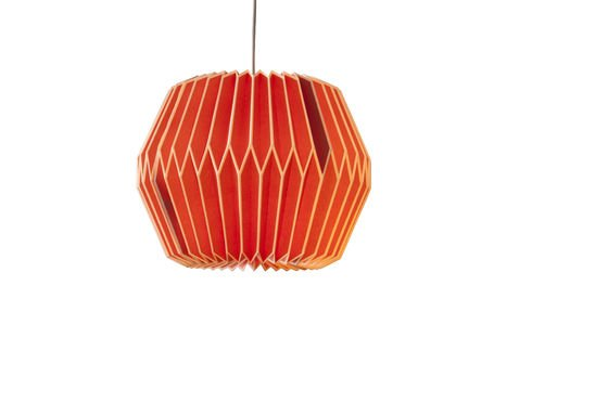 Hippy Lampe Rot ohne jede Grenze