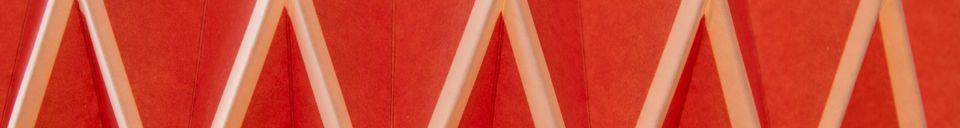 Materialbeschreibung Hippy Lampe verlängert