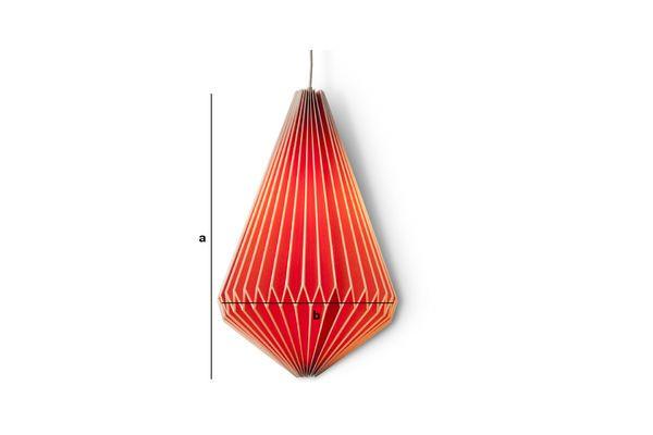 Produktdimensionen Hippy Lampe verlängert
