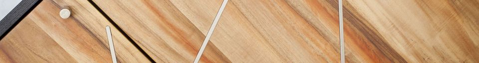 Materialbeschreibung Holz Sideboard Linéa