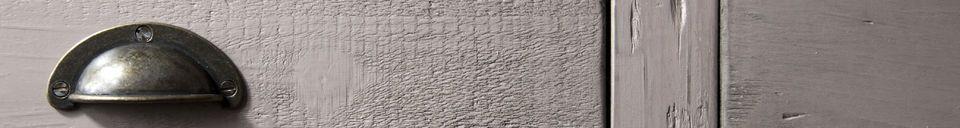 Materialbeschreibung Holzanrichte Gironde