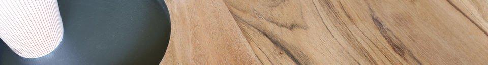 Materialbeschreibung Holzcouchtisch Bascole