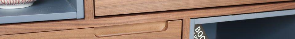 Materialbeschreibung Holzschrank Cassi