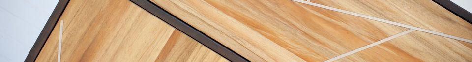 Materialbeschreibung Holzschrank Linéa