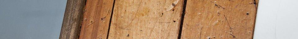 Materialbeschreibung Holzspiegel Sheffield