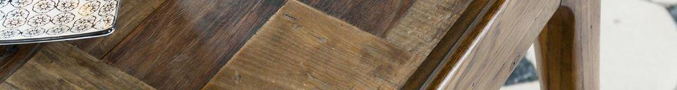 Materialbeschreibung Holzstisch Tabüto