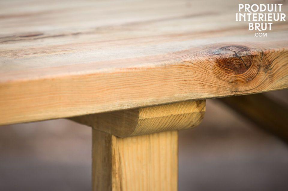 Atelier-Tisch aus 100% Massivholz