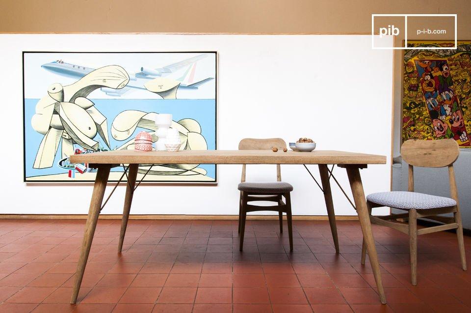 holztisch jot n modern patiniert pib. Black Bedroom Furniture Sets. Home Design Ideas