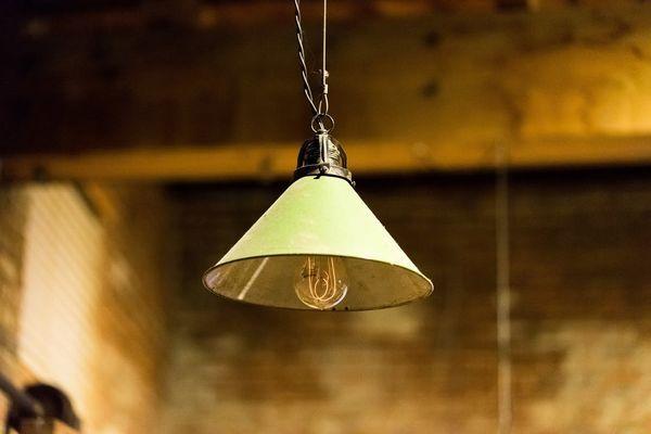 Industrielle vintage beleuchtung