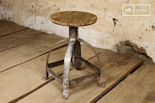 Industrieller Hocker Lateque