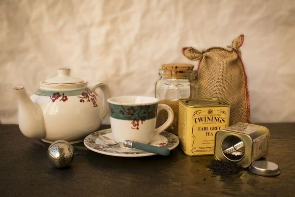 10.Juego de té británico
