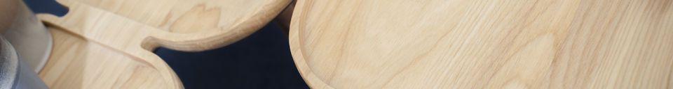 Materialbeschreibung Kädri Couchtisch aus Holz