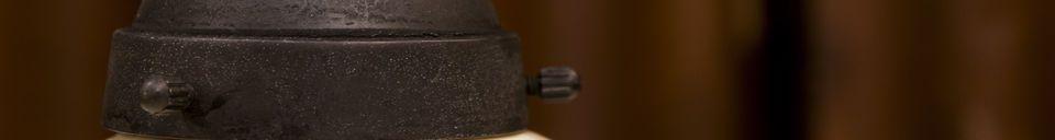 Materialbeschreibung Keramik Hängelampe Pornic