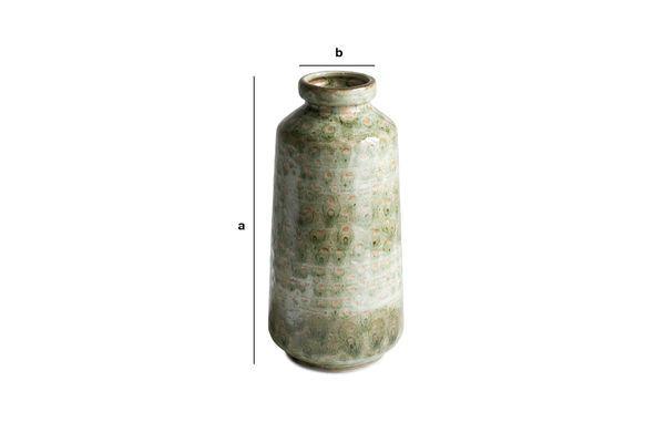 Produktdimensionen Keramikvase Eva