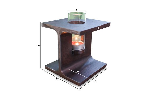 Produktdimensionen Kerzenhalter Motown