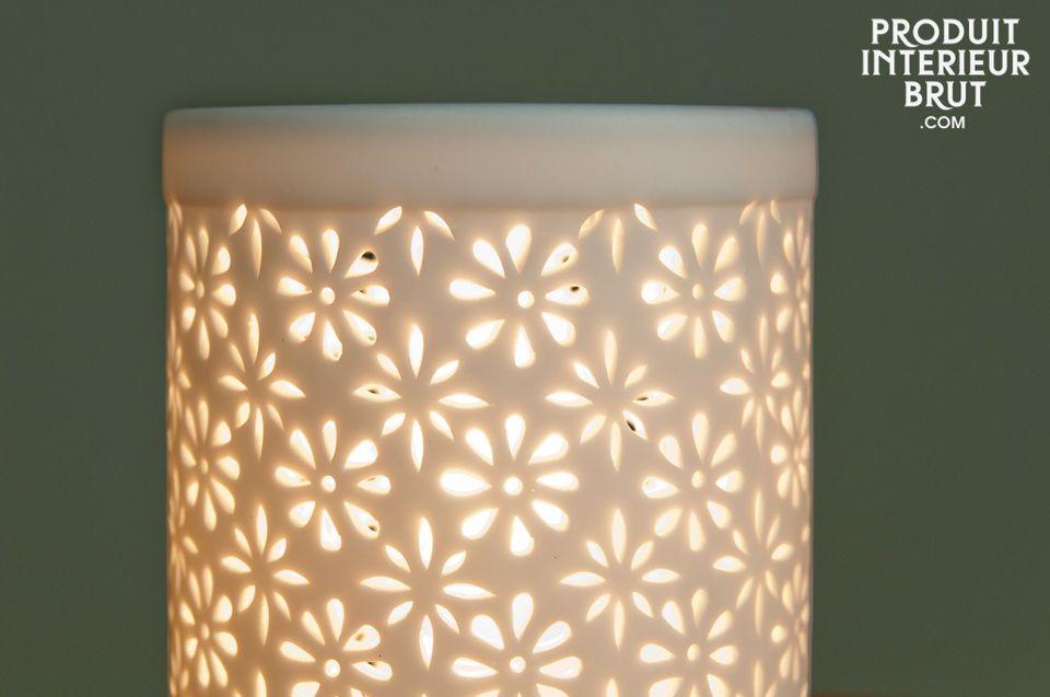 Ein schönes Licht in einem nordischen Stil