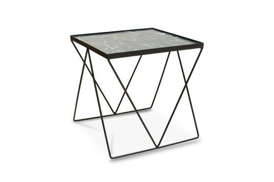Kleiner Bumcello-Tisch aus grünem Marmor ohne jede Grenze
