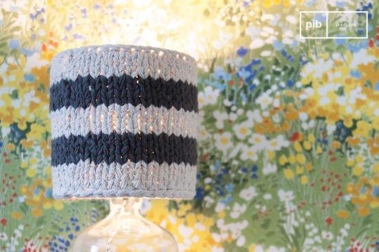 Kleiner Lampenschirm Paimpol Grau