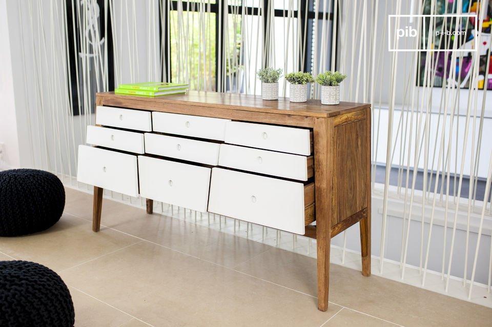 Ein elegantes und grafisches Möbel im nordischem Stil