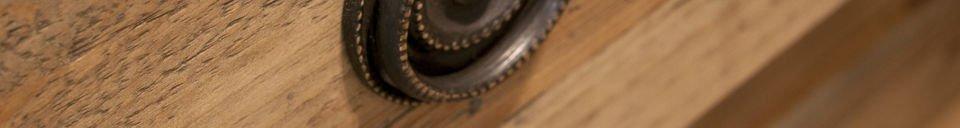 Materialbeschreibung Kommode Sonia aus Holz