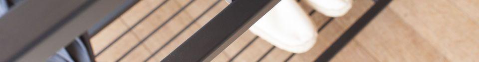 Materialbeschreibung Konsole aus schwarzem Marmor Noora