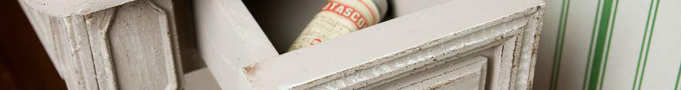 Materialbeschreibung Konsolentisch aus Holz Bellevue