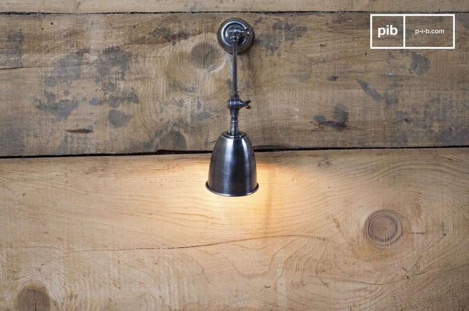 kunstschmiede wandleuchte schwenkbare wandleuchte pib. Black Bedroom Furniture Sets. Home Design Ideas