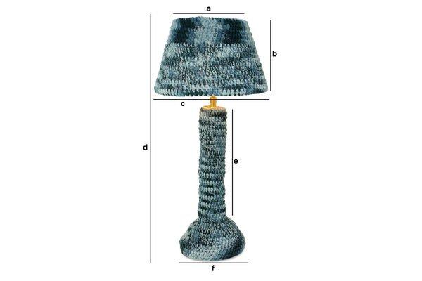 Produktdimensionen Lampe Asatöri