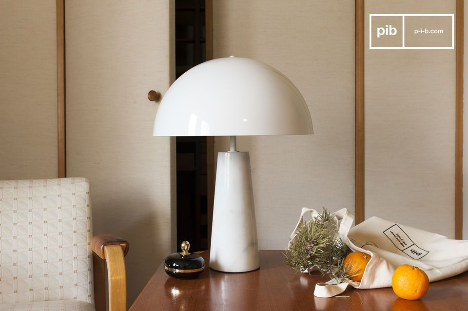 Pilzleuchte im Vintage-Stil für das Büro oder Esszimmer