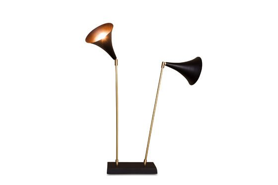 Lampe Double Black ohne jede Grenze