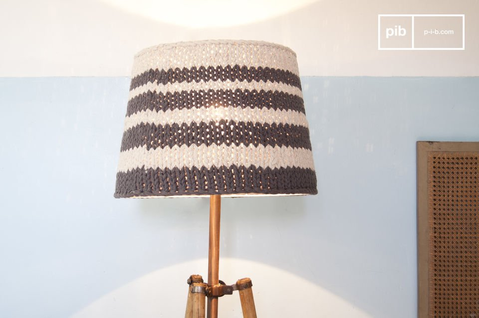 Lampenschirm Paimpol Grau