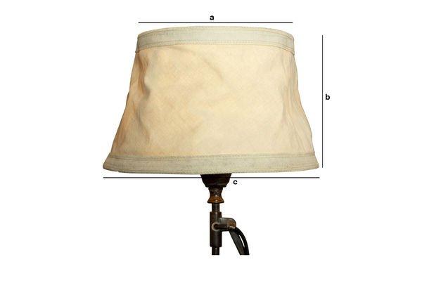 Produktdimensionen Lampenschirm Victoria 25 cm