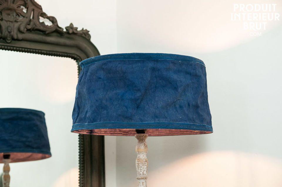 Lampenschirm Victoria Blau 45 cm