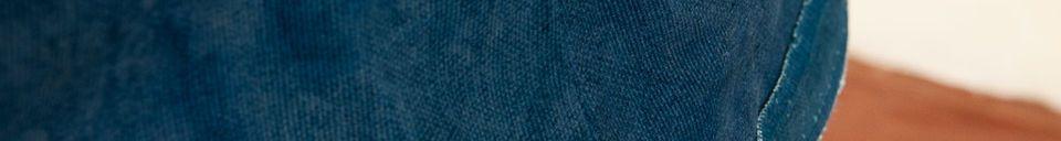 Materialbeschreibung Lampenschirm Victoria Blau 45 cm