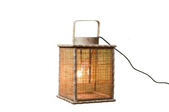 Laterne aus Bambusgeflecht ohne jede Grenze