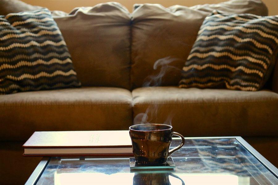 Eine Ledercouch Bringt Eleganz In Ihr Wohnzimmer